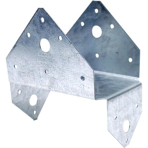Simpson Strong-Tie 4 In. x 6 In. 18 ga Galvanized BC Post Cap & Base