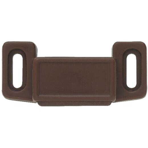 Liberty Brown Economy Magnetic Catch with Strike (2-Count)
