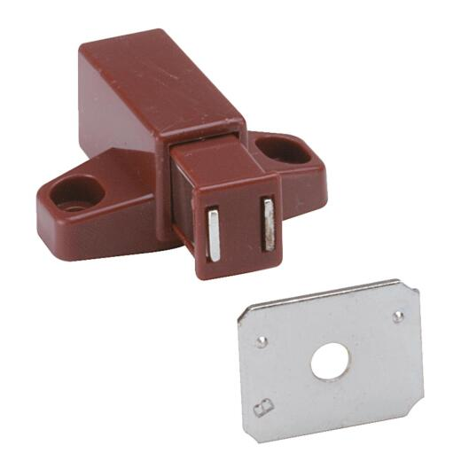 Amerock Brown Plastic Magnetic Touch Latch