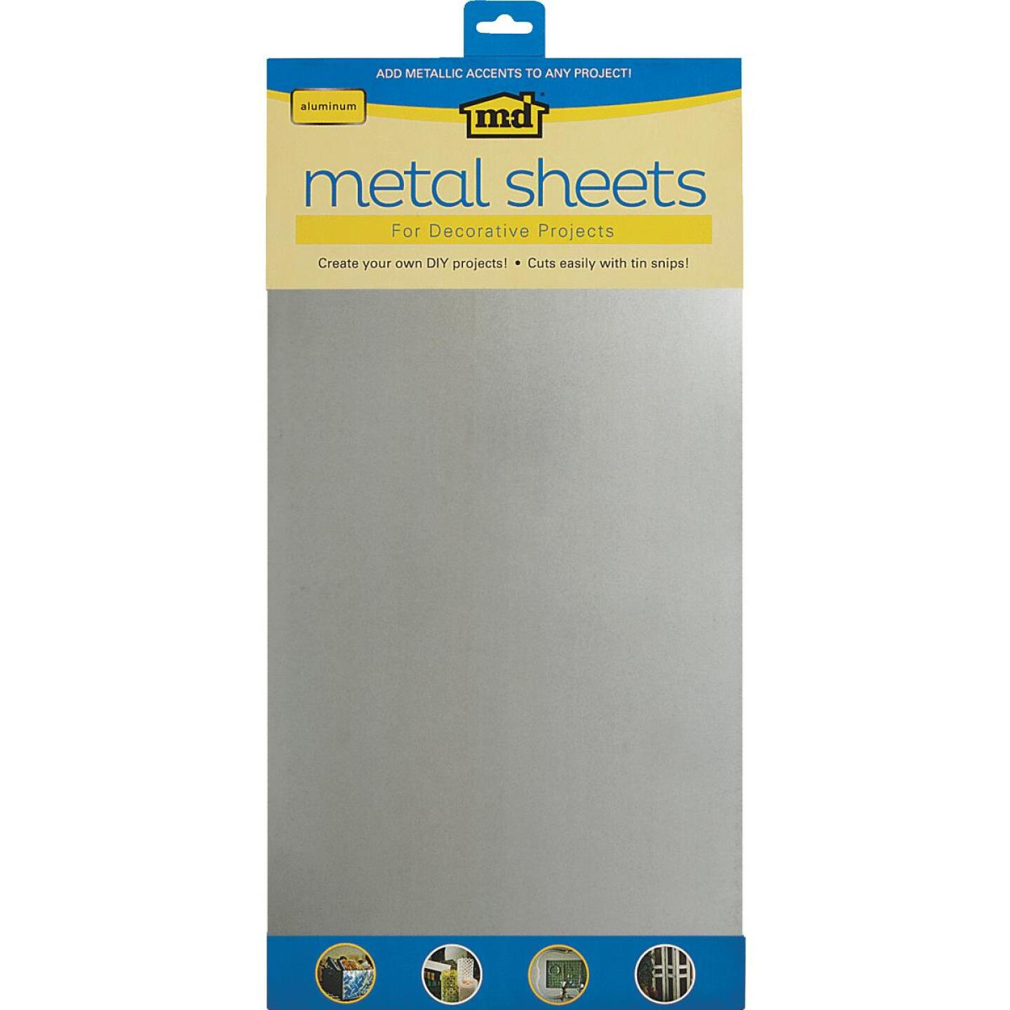 M-D 1 Ft. x 2 Ft. x .020 In. Galvanized Steel Sheet Stock Image 1