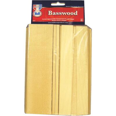Midwest Product Various Dimensions Basswood Econo Board