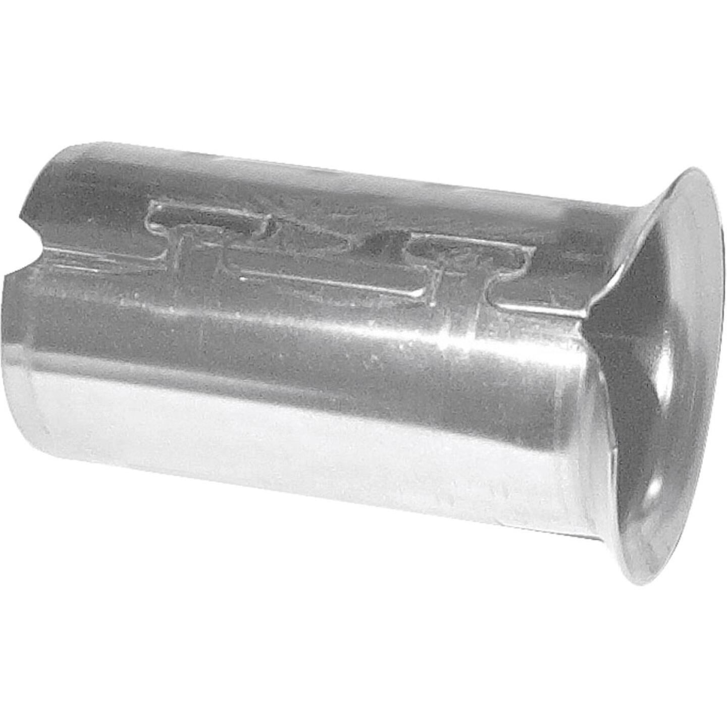 A Y McDonald 1 In. Stainless Steel Insert Stiffener for CTS Poly Pipe Image 1