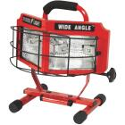 Designers Edge Power Light 8000 Lm. Halogen H-Stand Portable Work Light Image 4