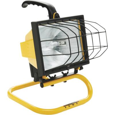 Designers Edge Power Light 8000 Lm. Halogen S-Tube Portable Work Light