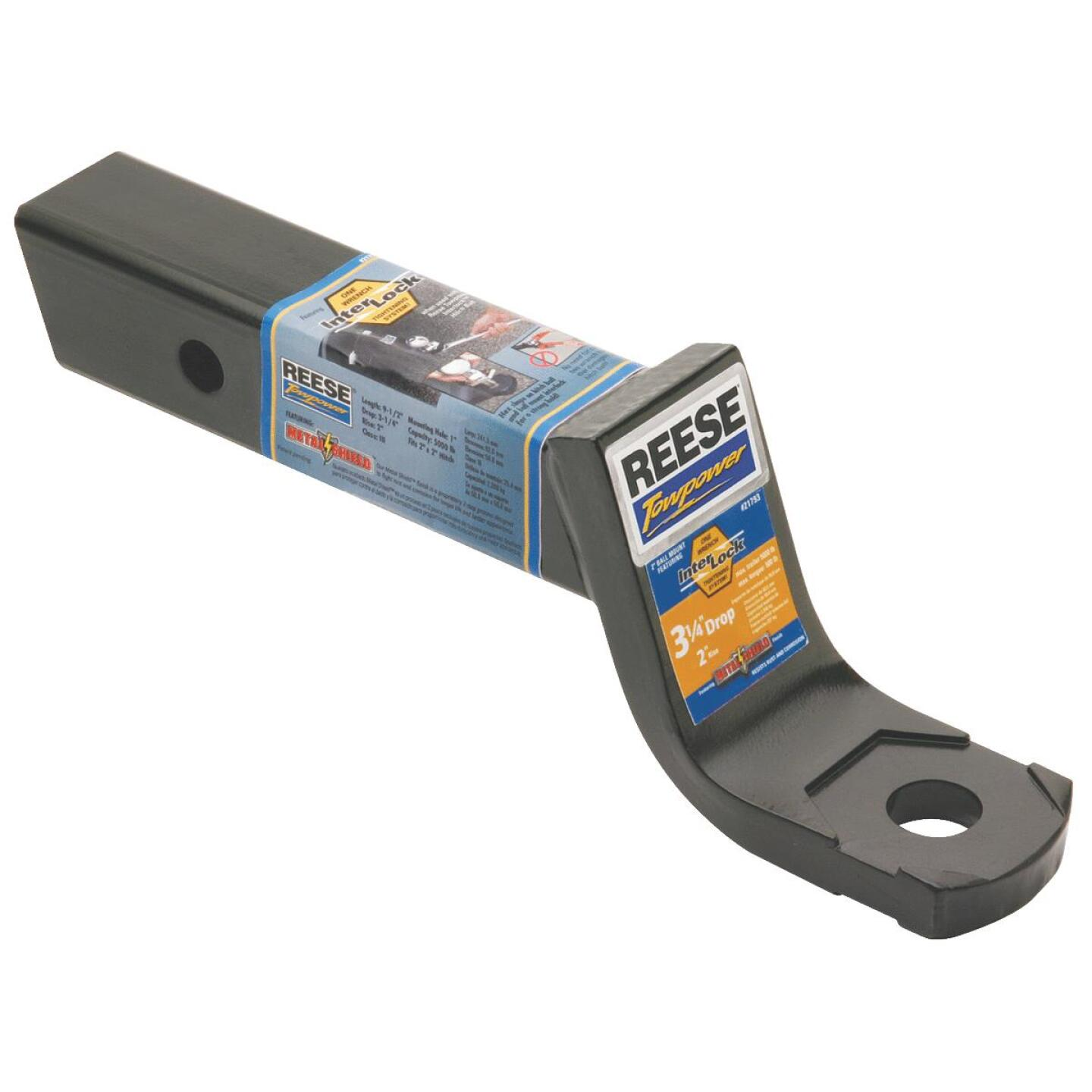 Reese Towpower 1 In. x 3-1/4 In. Drop InterLock Hitch Draw Bar Image 1