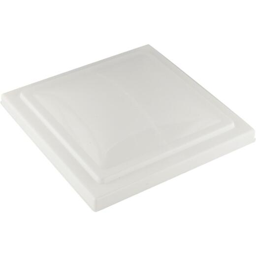 Camco 14 In. x 14 In. Poly Impact-resistant RV Vent Lid