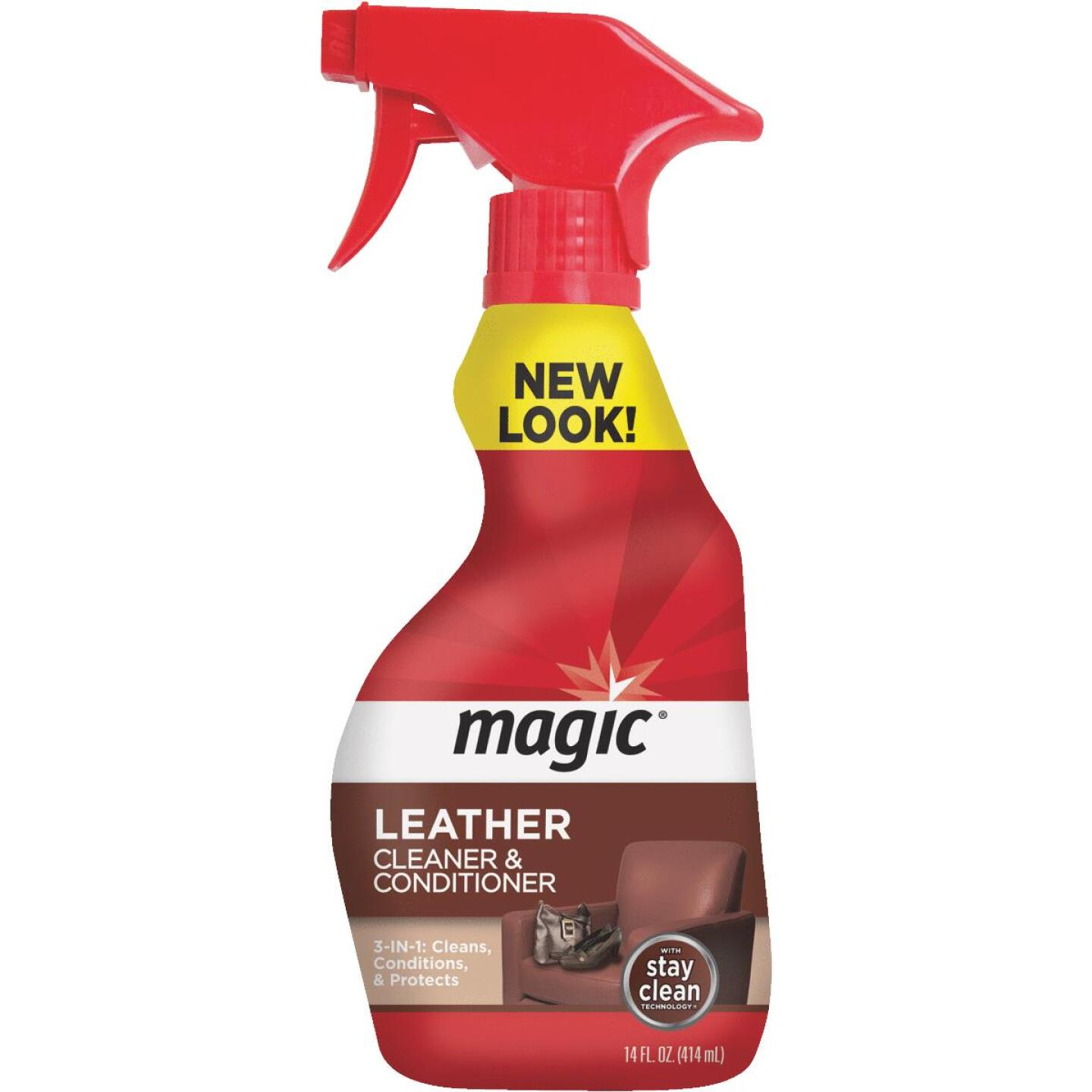Magic 14 Oz. Trigger Spray Leather Cleaner & Conditioner Image 1