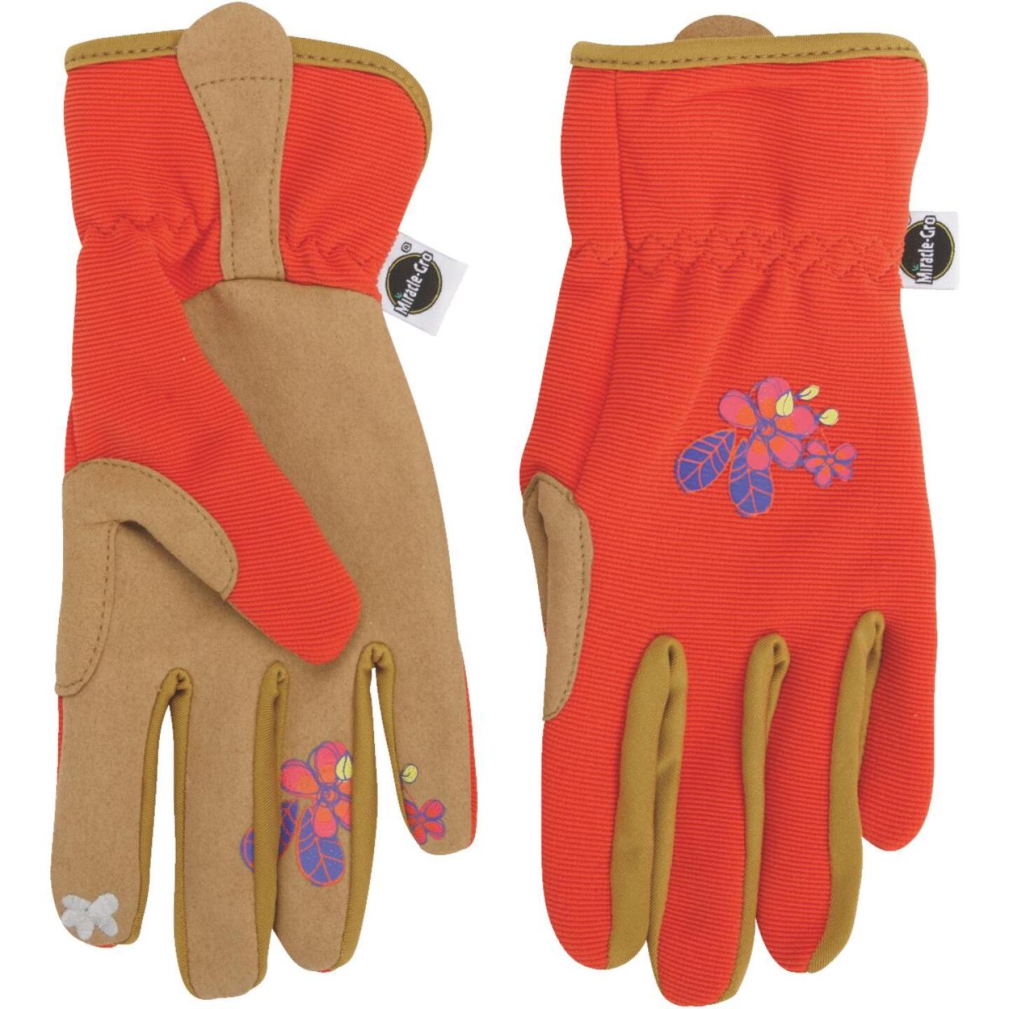 Miracle-Gro Women's Small/Medium Synthetic Leather Garden Glove Image 3