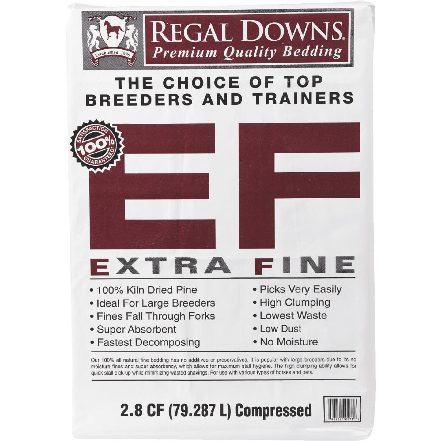 Regal Downs 2.5 Cu. Ft. Extra Fine Bedding Stall Shavings Image 2