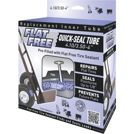 Flat Free Sealant Filled 4 In. Hand Truck Tire Inner Tube