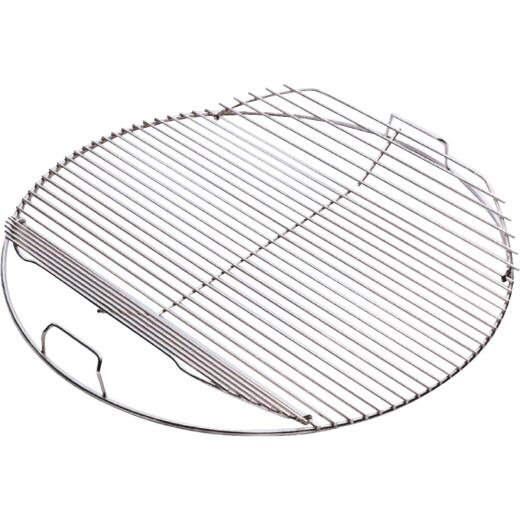 Weber 18.5 In. Dia. Plated-Steel Hinged Kettle Grill Grate