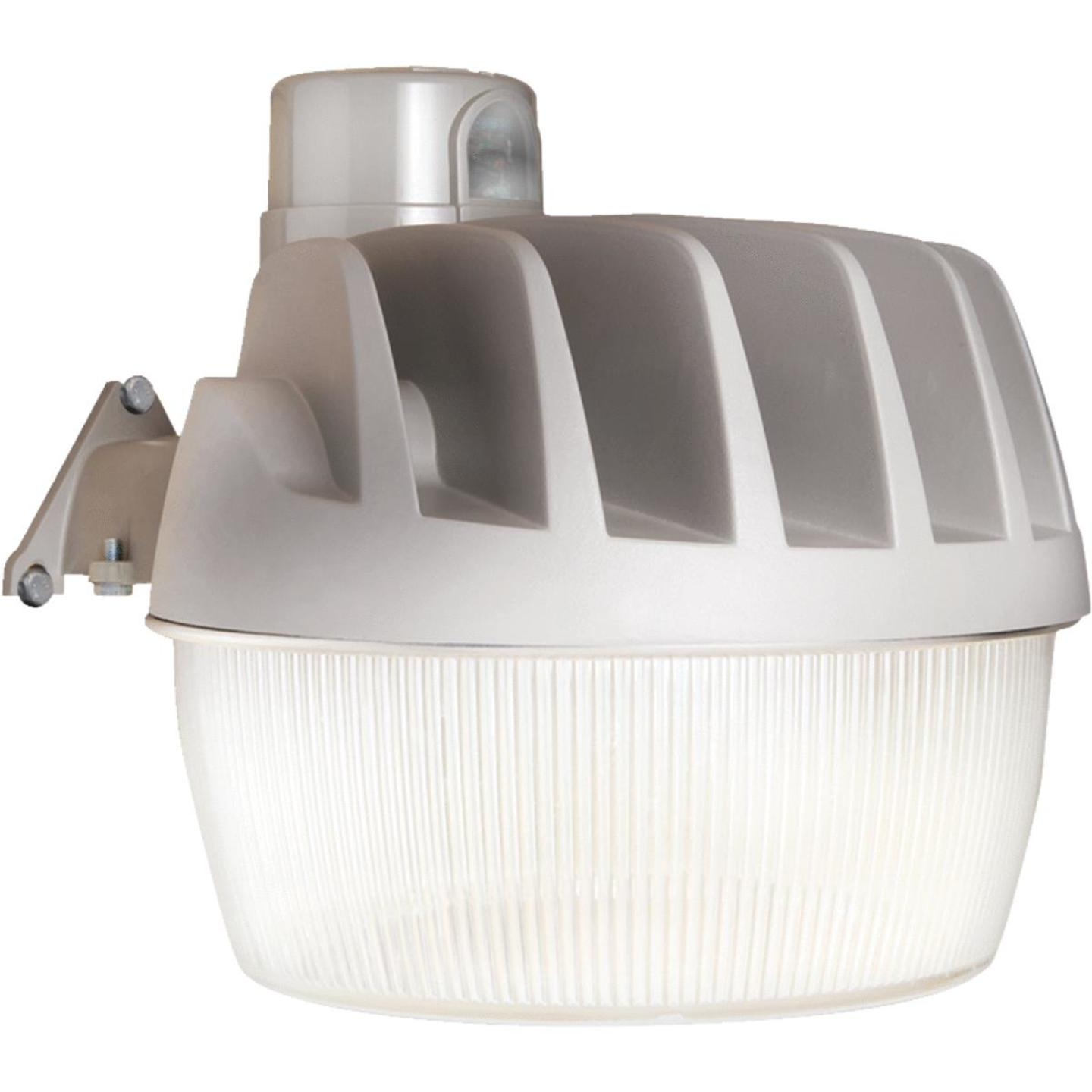 All-Pro Gray Dusk To Dawn LED Outdoor Area Light Fixture w/Twist & Lock Replaceable Photo Control